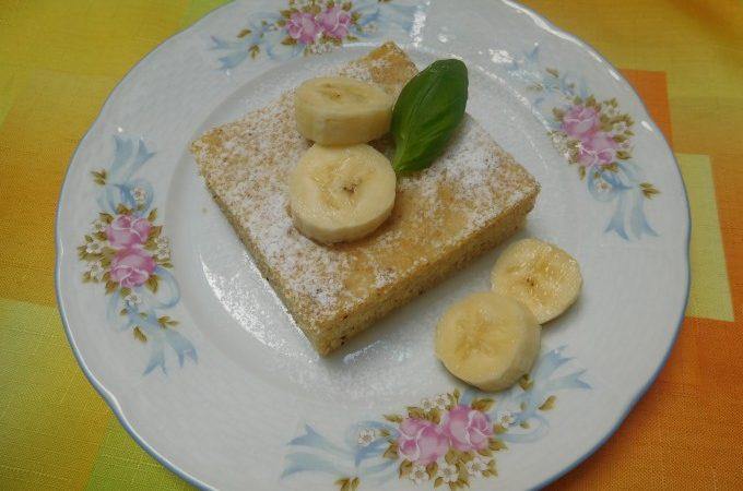 Hrnková banánová buchta